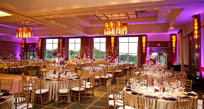 Event space at Eaglewood Resort and Spa in Chicago Northwest, Illinois