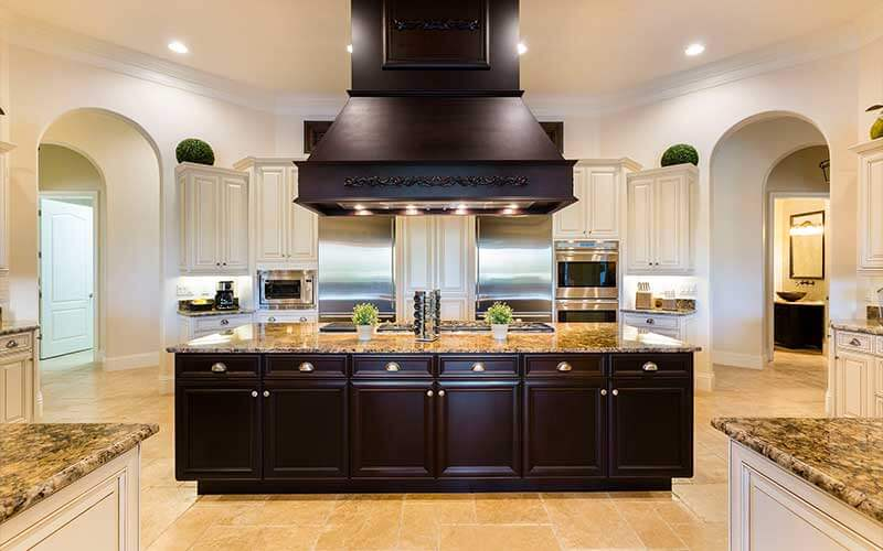 A kitchen in a Jeeves vacation home in Kissimmee, FL