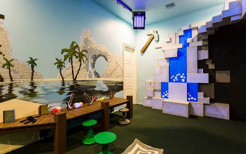 A playroom in a Jeeves vacation home in Kissimmee, FL