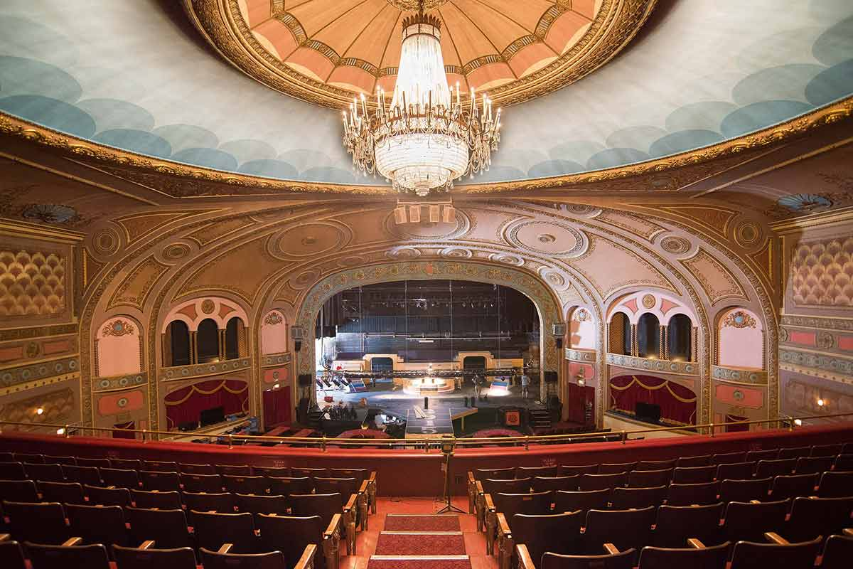 The Renaissance Theatre, site of the Shawshank Redemption premiere in Mansfield, OH