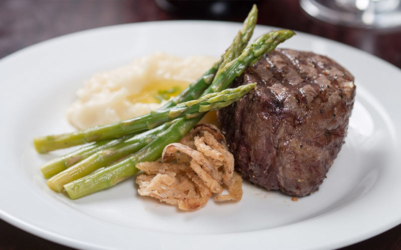 A steak from Circle L Steakhouse in Medina, OH