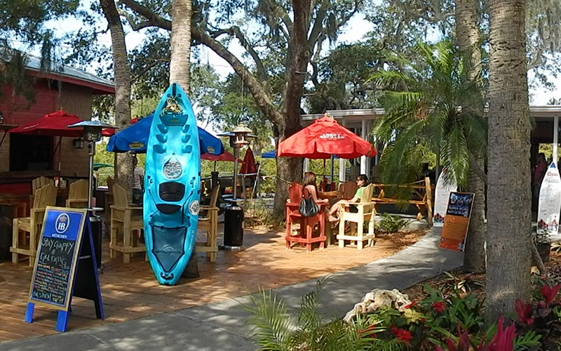 Tiki bar in Florida