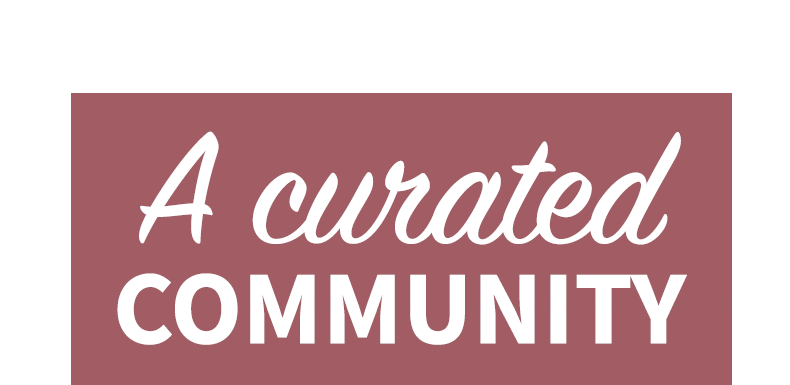 A curated community