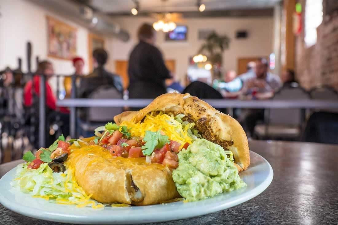 "The ""Americanized"" taco at Cali Taco in Omaha."