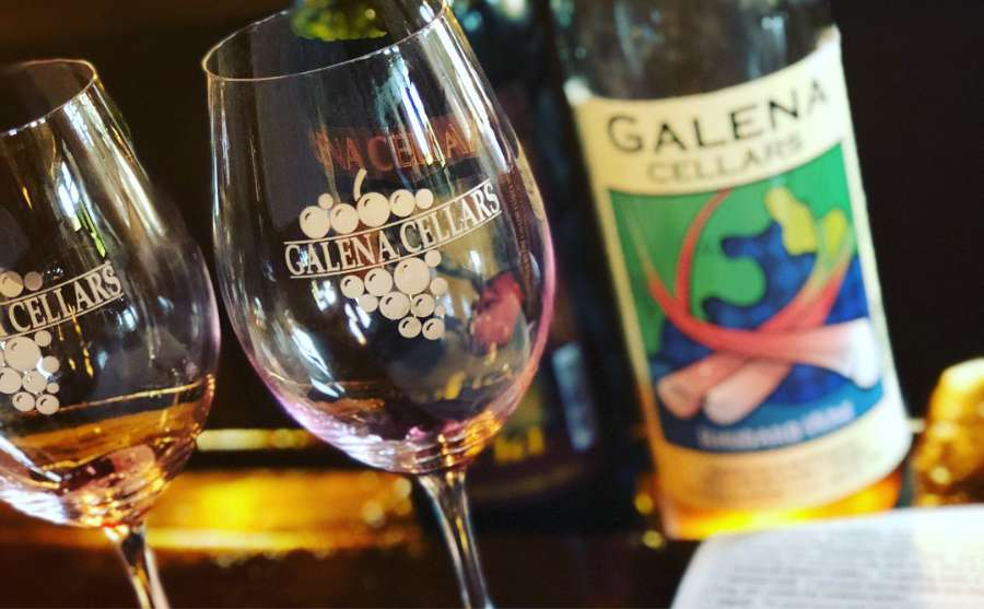 Galena Cellars Vineyard and Winery in Galena, Illinois